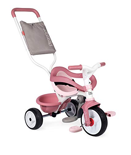 Smoby- Be Move Confort Tricycle Rose (740415)