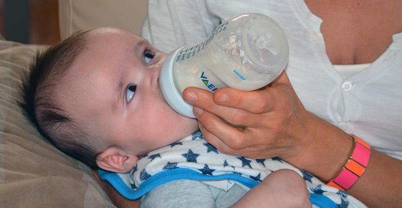 Intolérance lait de vache bébé