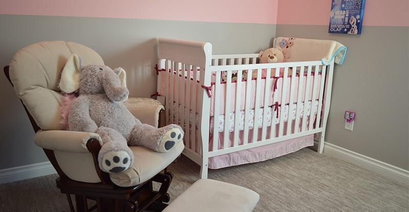 Désinfecter la chambre de bébé
